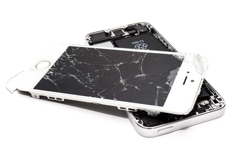 Popravilo ekrana mobilnega telefona