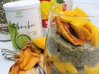 Chia semena v prehrani - puding